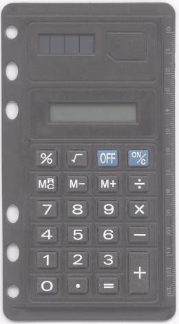 Taschenrechner von vorne